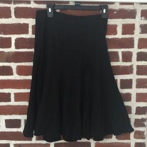 Villager (Liz Claiborne) black flowy skirt